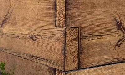 beton imitacja drewna