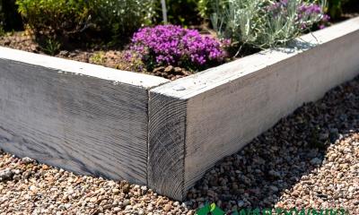 warzywniki imitacja drewna